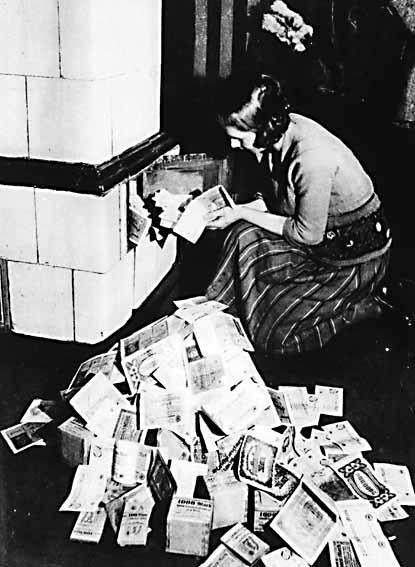 Гиперинфляция в Германии 1923 год